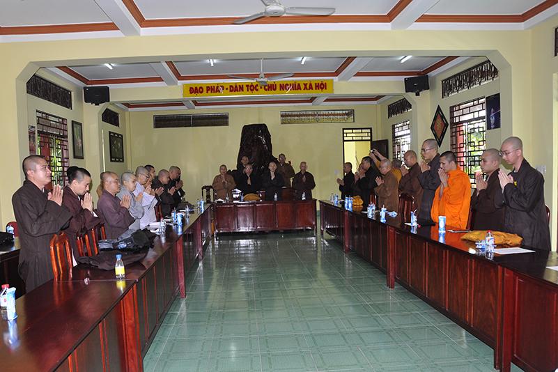 Ban Thông tin Truyền thông Phật sự Miền Tây họp thành lập ban biên tập và triển khai phương hướng hoạt động