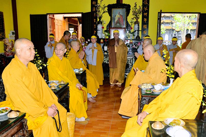 Cần Giuộc, chùa Pháp Môn long trọng thiết lễ trai tuần Chung Thất Ni Trưởng Thích Tắc Tâm