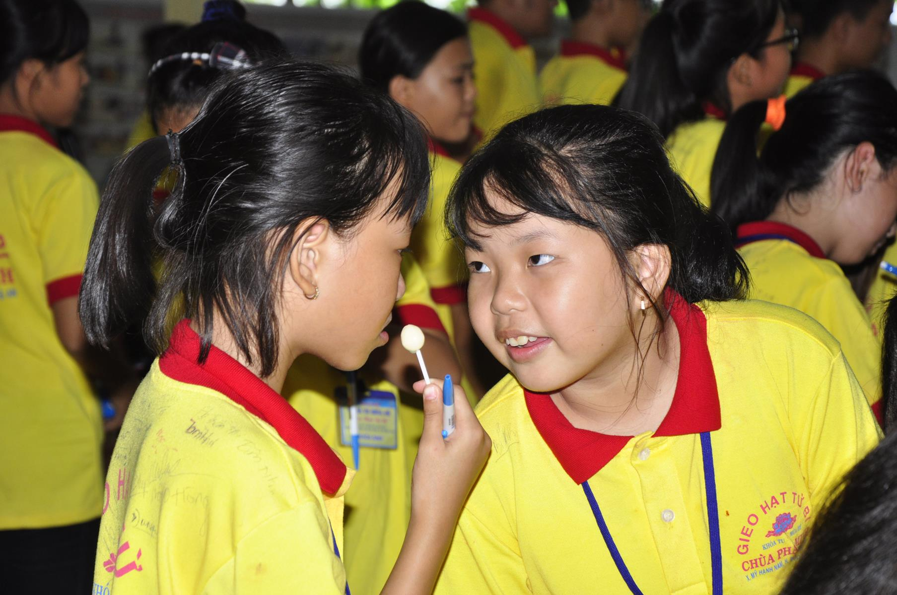 Chùa Pháp Minh: Ngày thứ ba & thứ tư khóa tu Gieo hạt Từ Bi